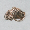 $525 wider heavy bridled horse ring